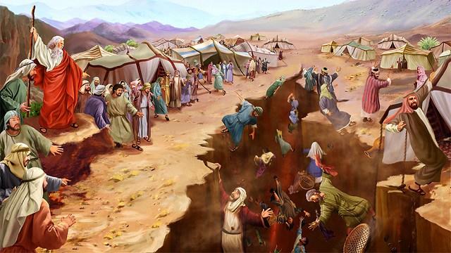 Ribellione di duecentocinquanta Israeliti autorevoli