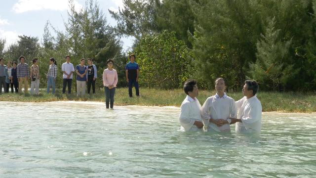 È possibile essere portati in salvo nel Regno dei Cieli grazie al battesimo?