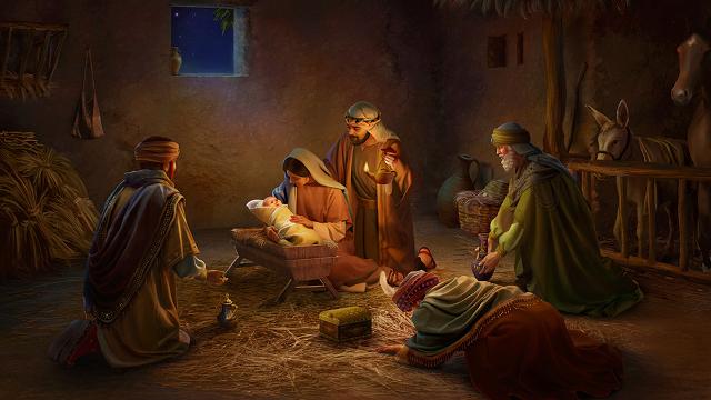 Storie della Bibbia: nascita di Gesù Cristo