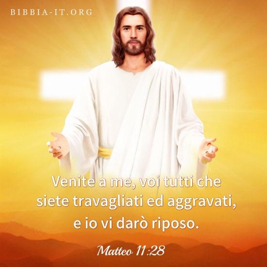 Frasi bibliche Matteo 1128