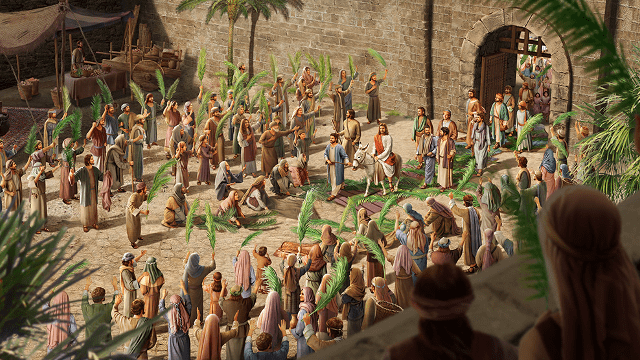 Ingresso trionfale di Gesù a Gerusalemme