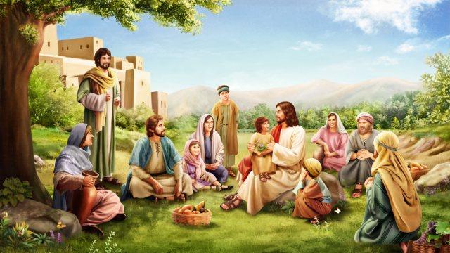 Storie della Bibbia l'esempio del bambino