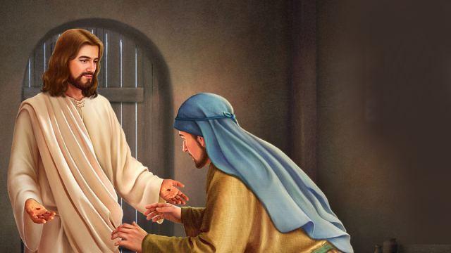 Nell'accogliere il Signore, non agite come Tommaso dicendo: se non vedo non credo