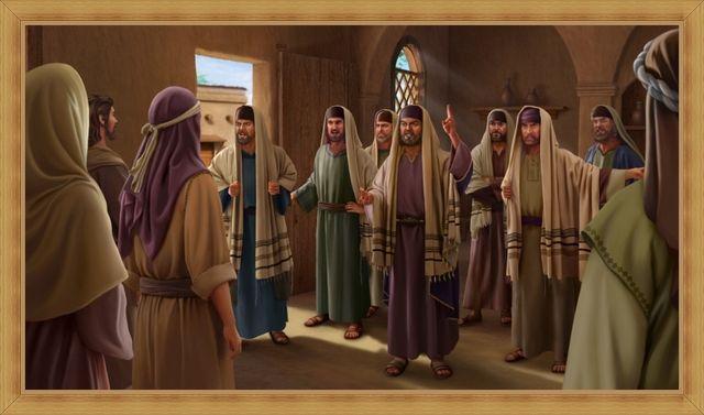 Farisei che resistettero a Dio
