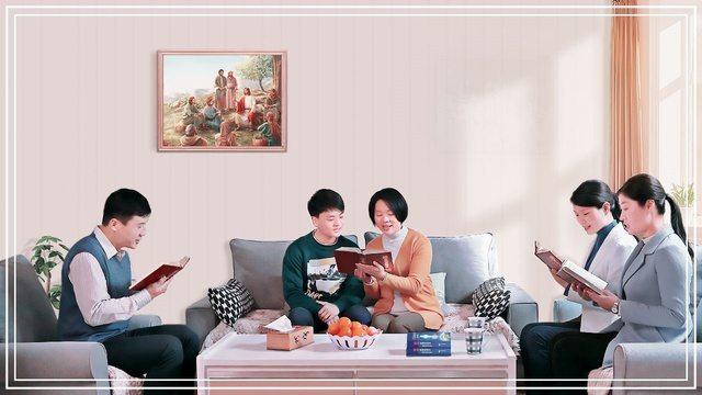 cristiani legge la parola di Dio