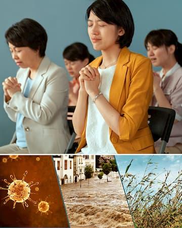 Le catastrofi si stanno verificando, solo pentendoci veramente possiamo ottenere la protezione di Dio