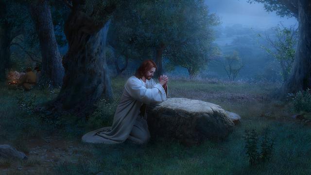 come pregava gesù