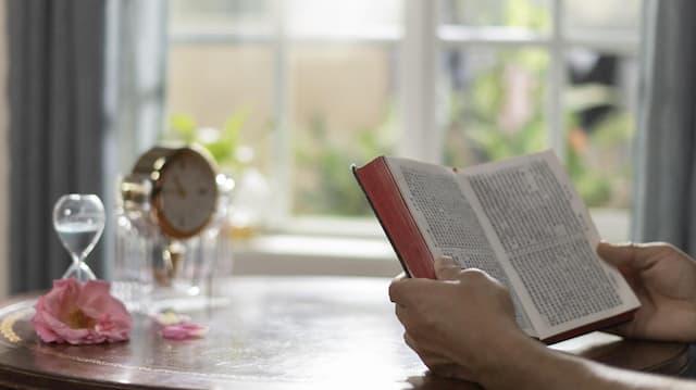 leggendo la Bibbia